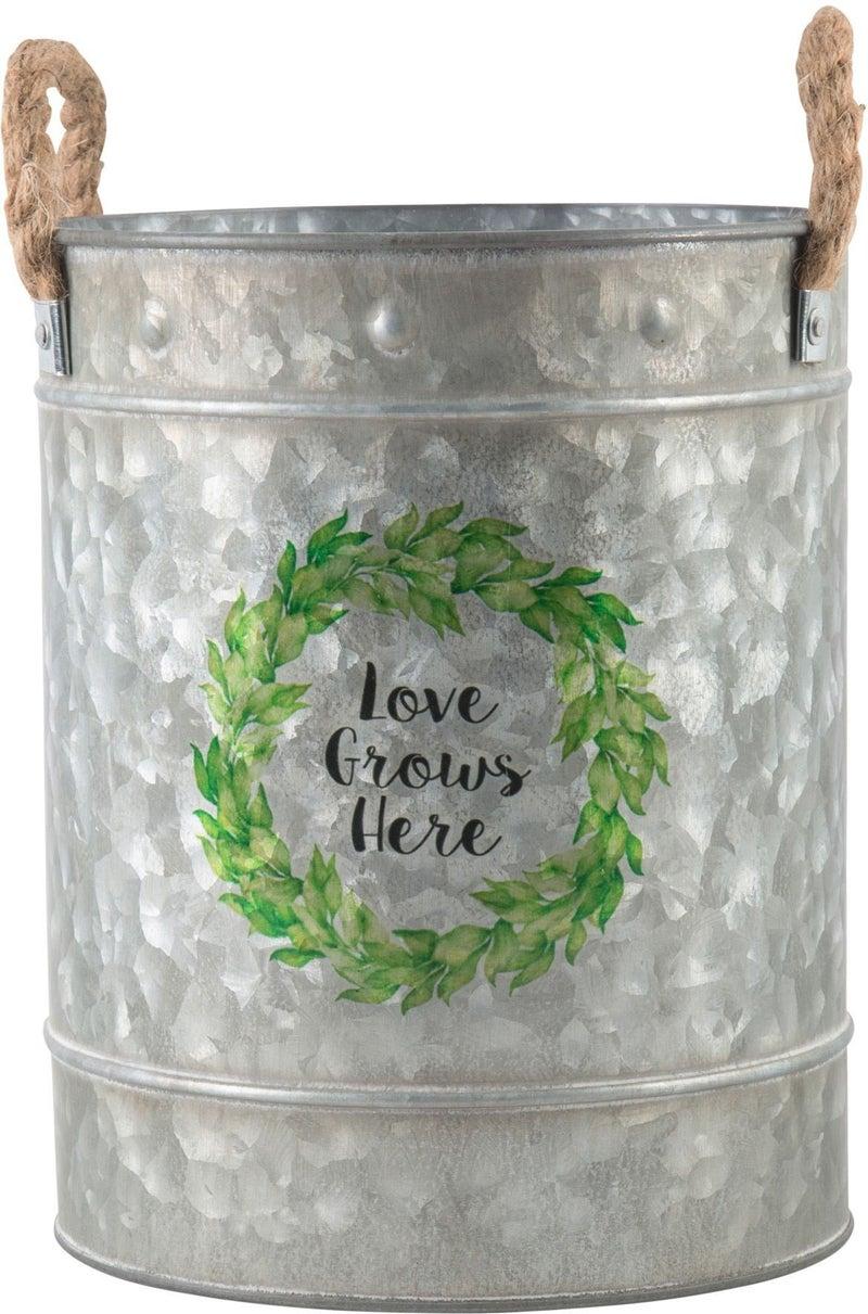 Love Grows Here Bucket