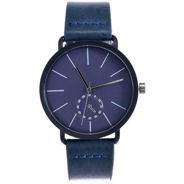 Minimalist Watch Navy