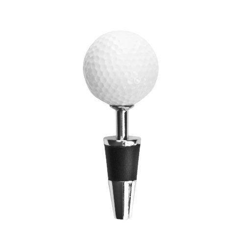 Topspin Golf Ball Bottle Stopper