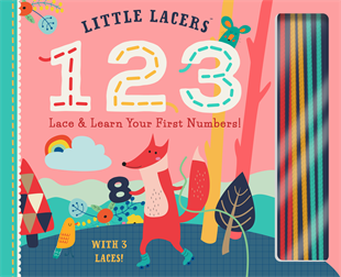 Little Lacers: 123 Book