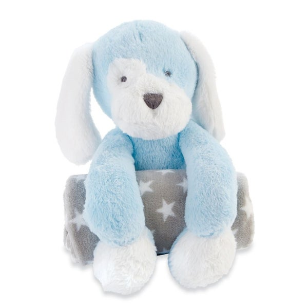 Puppy Plush with Blanket