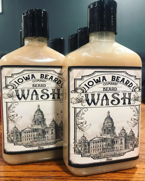Iowa Beard Company Beard Wash