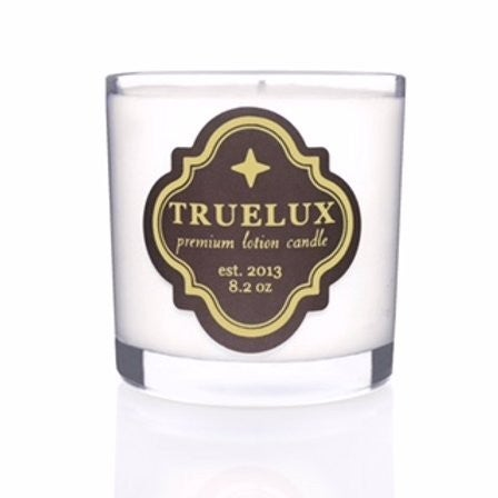 Truelux Lotion Candle Peppermint Eucalyptus