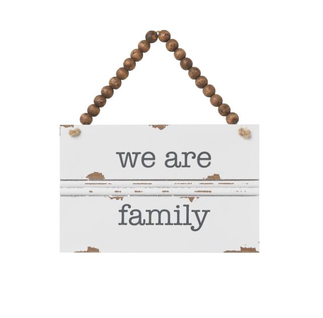 Family Trim Sign
