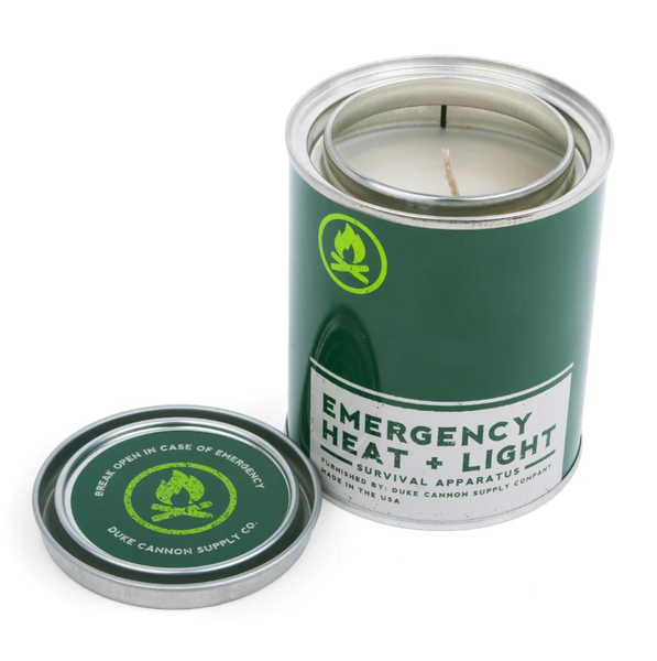 Emergency Heat + Life Candle Fresh Pine