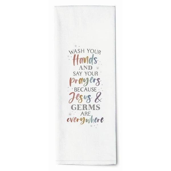Jesus & Germs Towel