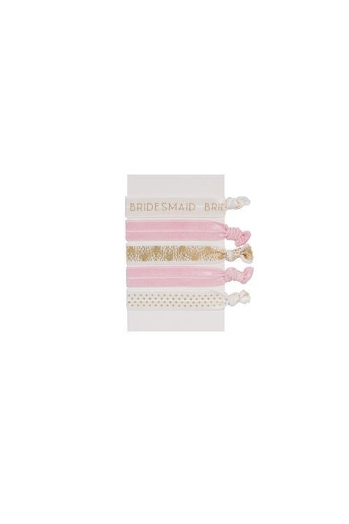 Bridesmaid Hair Ever Together Hair Tie Set
