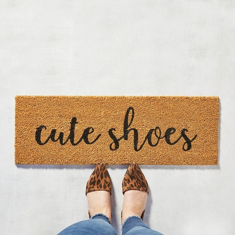 Cute Shoes Door Mat