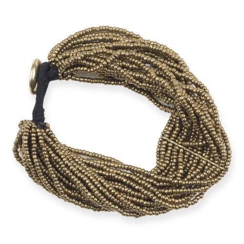 Multi-Strand Bracelet Antique Gold *Final Sale*