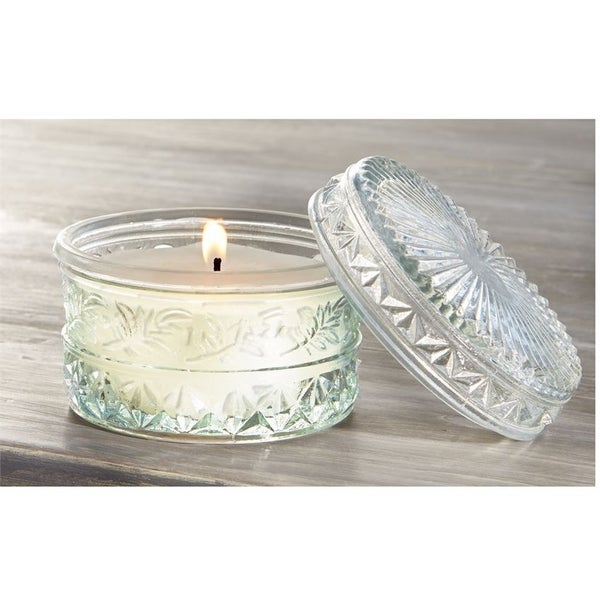 Cut Glass Lavender Candle *Final Sale*