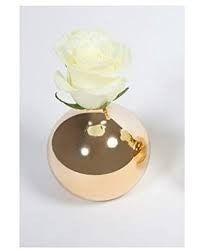 Gold Round Vase