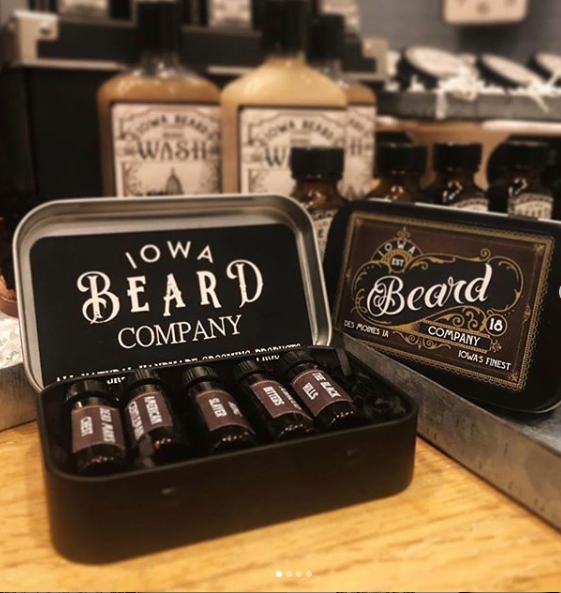 Iowa Beard Company Beard Oil Sample Pack
