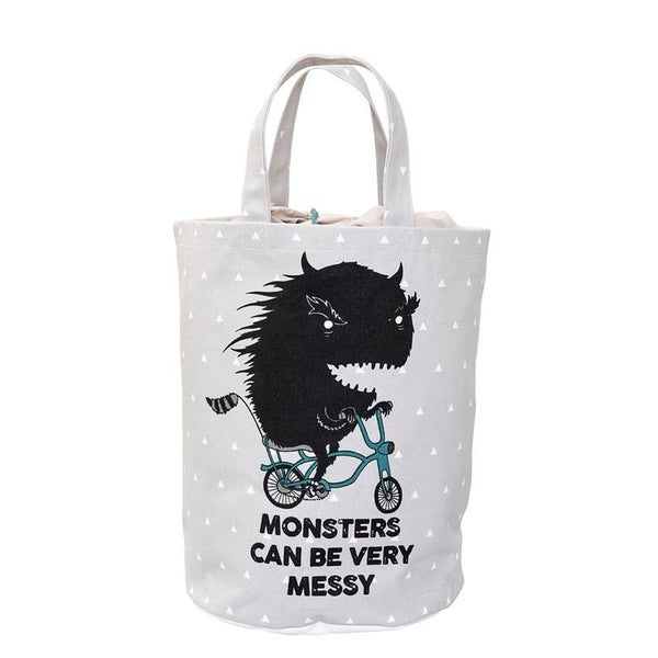 Canvas  Messy Monster Storage Bag