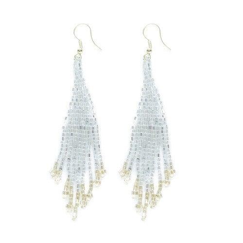 Small Fringe Earrings Silver & Gold *Final Sale*