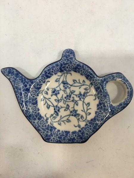 Tea Bag Holder ~ Delicate Vine