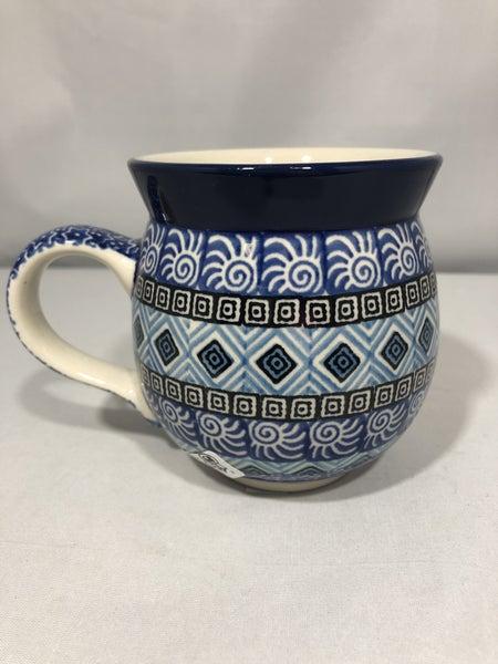Mug ~ Bubble ~ 11 oz. ~ Blue Aztec