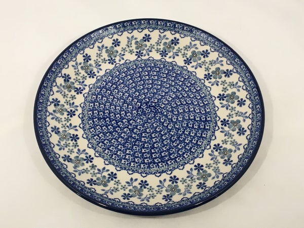 Plate ~ Dinner ~  10 inch ~ Cool Blue