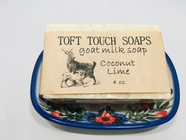 Coconut Lime Goat Milk Soap