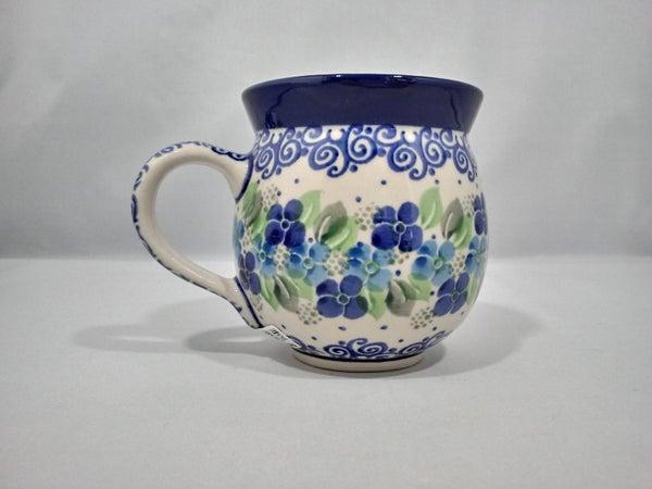 Mug ~ Bubble ~ 11 oz. ~ Blue Phlox