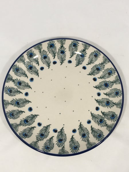 Plate ~ 7.75 inch ~ Eye of Feather