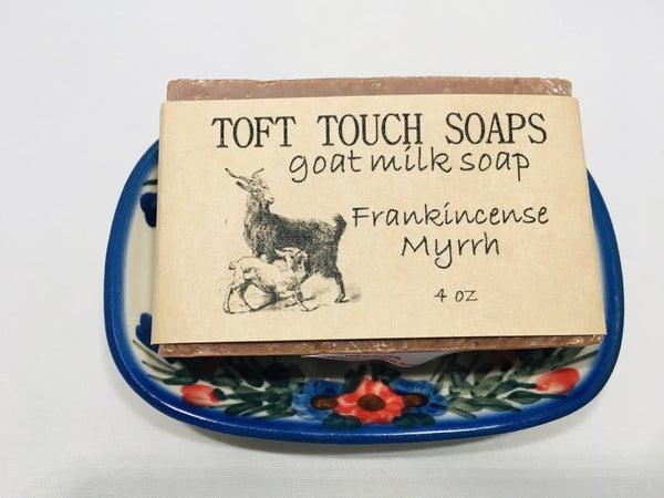 Frankincense Myrrh Goat Milk Soap