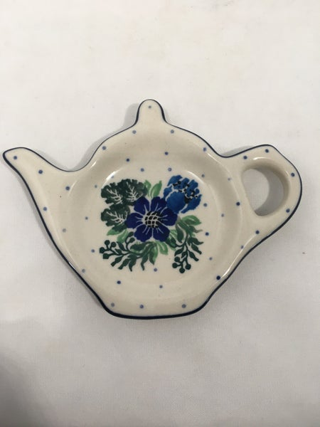 Tea Bag Holder ~ Spring Meadow