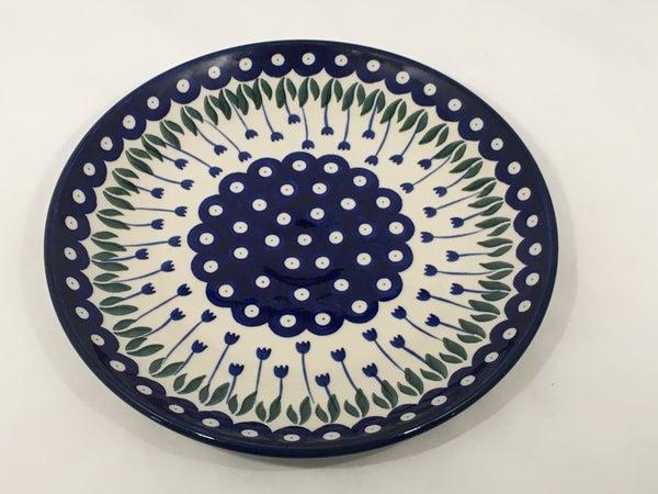 Plate ~ Dinner ~  10 inch ~ Bleeding Flower