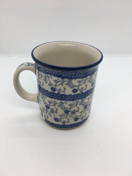 Mug ~ Straight Side ~ 8 oz ~ Delicate Vine
