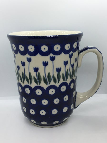 Mug ~ Bistro ~ 16 oz. ~ Bleeding Flower