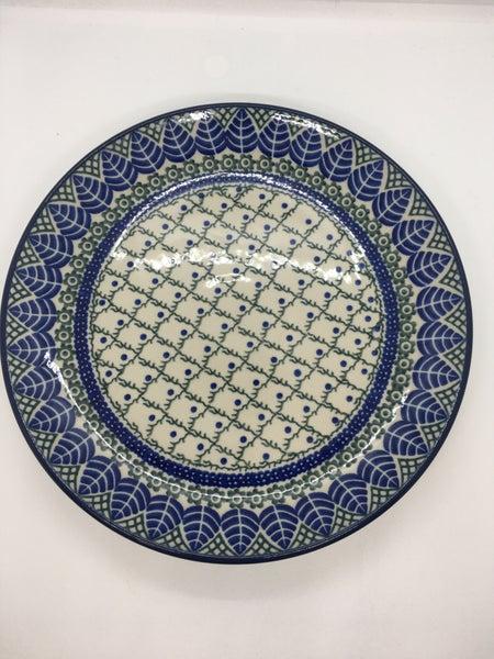 Plate ~ Dinner ~  10 inch ~ Leaf