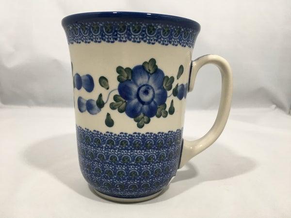 Mug ~ Bistro ~ 16 oz. ~ Blue Poppy