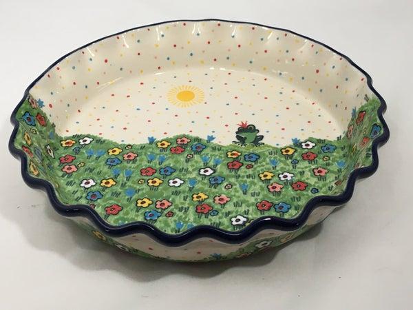 Pie Plate ~ Fluted ~ 10 inch ~ U4877 ~ U5