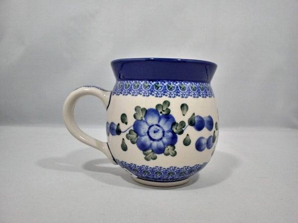 Mug ~ Bubble ~ 11 oz. ~ Blue Poppy