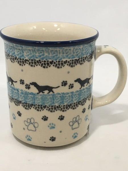 Mug ~ Straight Side ~ 8 oz ~ Diggity Dog