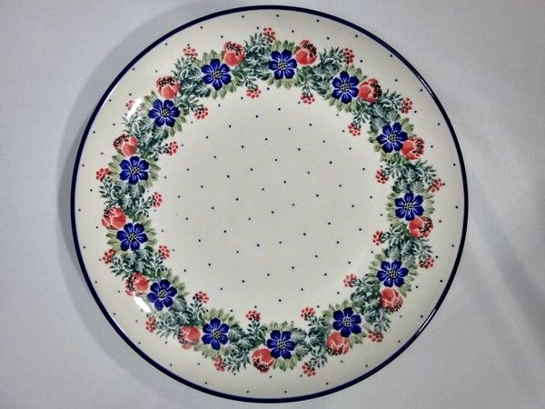 Plate ~ Dinner ~  10 inch ~ Garden Party