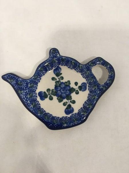Tea Bag Holder ~ Blue Poppy
