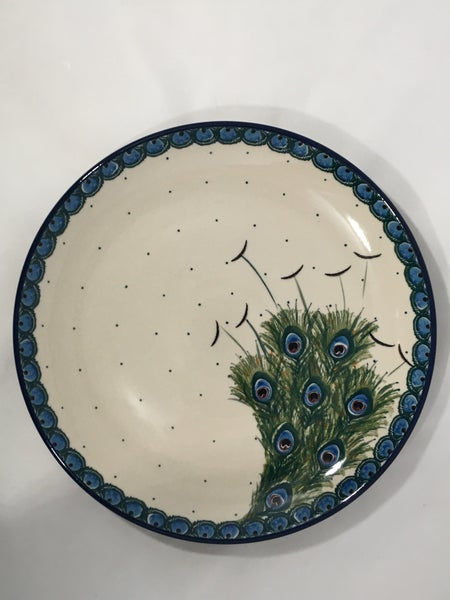 Plate ~ Dinner ~  10 inch ~ Art of the Feather