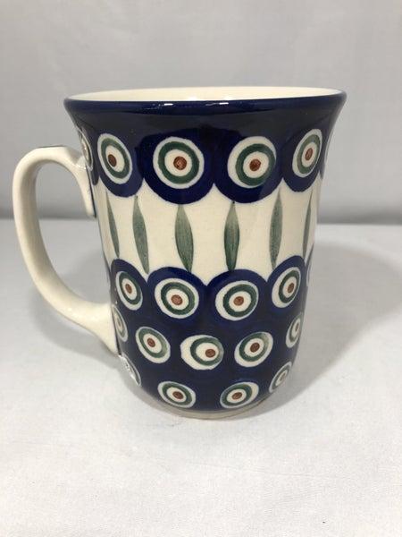 Mug ~ Bistro ~ 16 oz. ~ Peacock