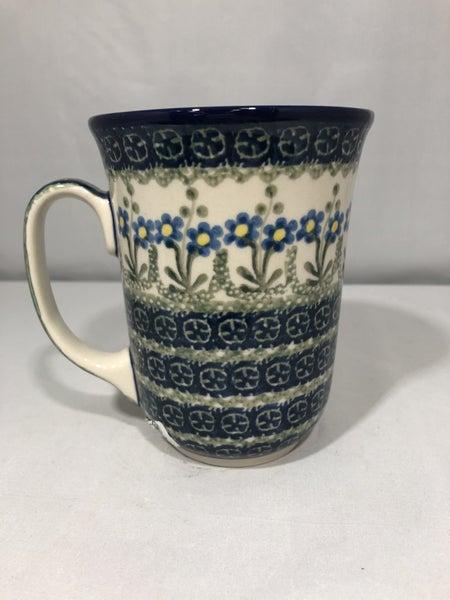 Mug ~ Bistro ~ 16 oz. ~ Blue Spring Daisy