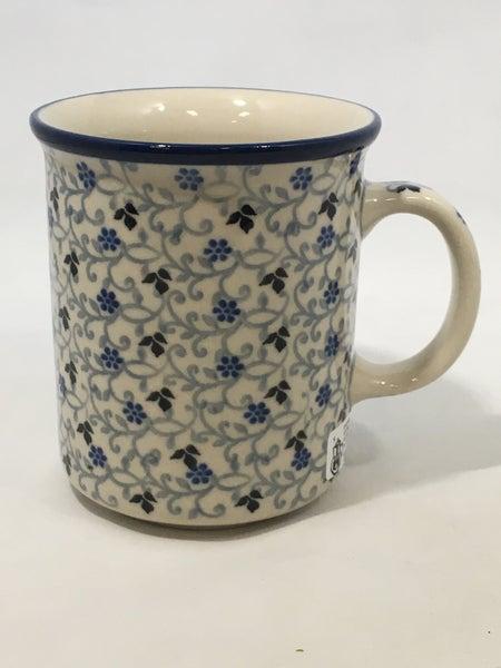 Mug ~ Straight Side ~ 8 oz ~ China Flower