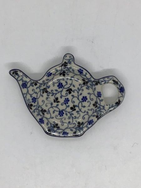 Tea Bag Holder ~ China Flower