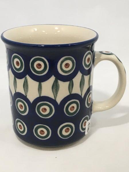 Mug ~ Straight Side ~ 8 oz ~ Peacock