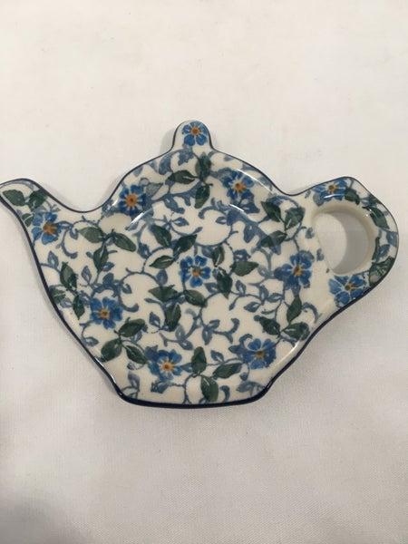 Tea Bag Holder ~ Sapphire