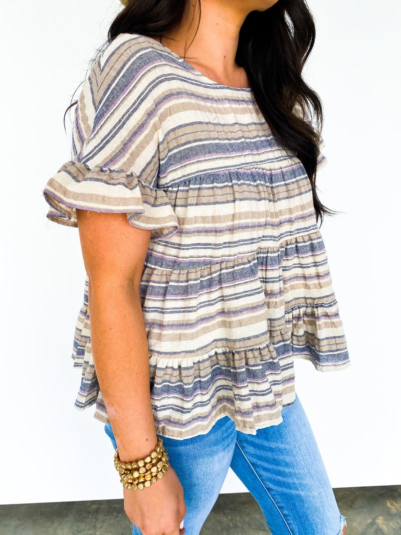 The Bayside Babydoll Top