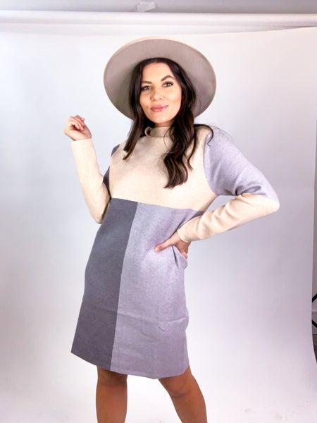 Signed Sealed Delivered SweaterDress *Final Sale*