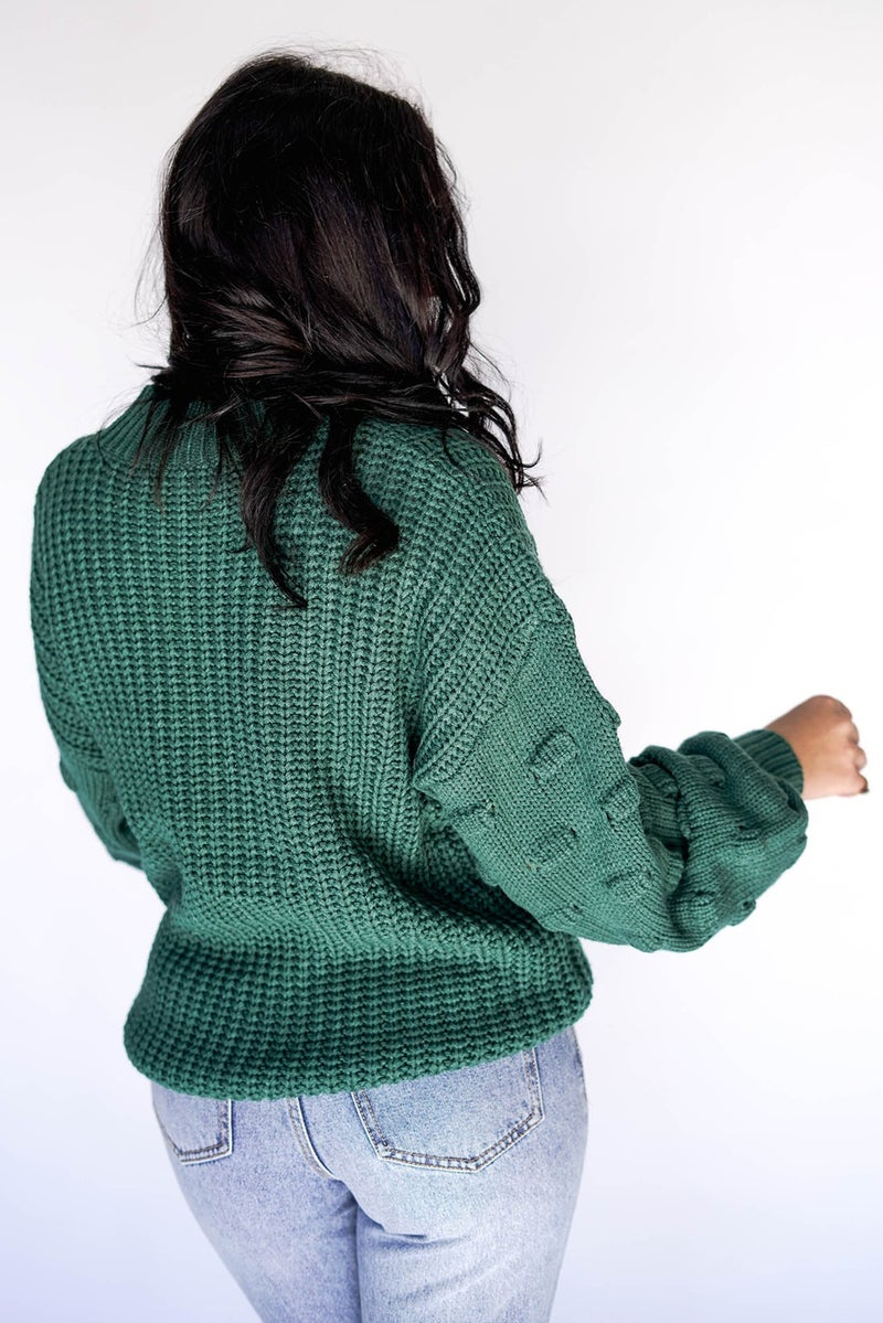 Be My Valentine Sleeve Detail Sweater