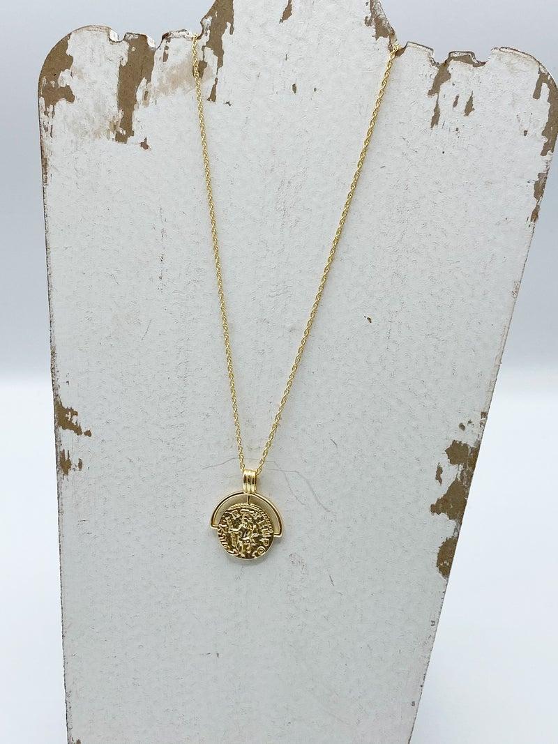 The Kiah Coin Necklace
