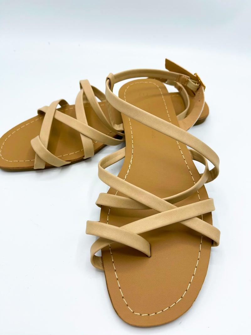 Callan Nude Sandal