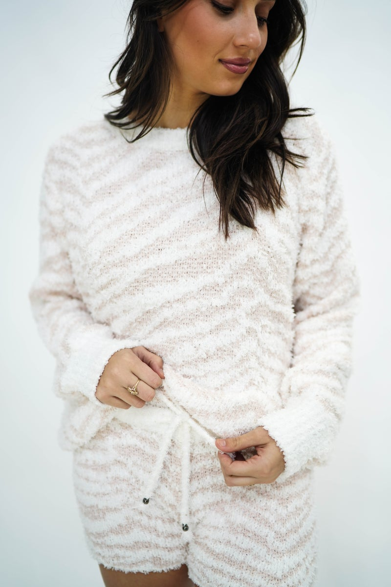 Pink Panther Lounge Crew Sweater *Final Sale*