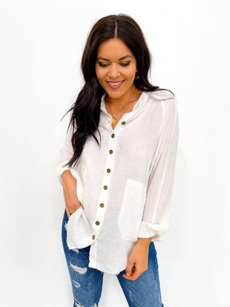 The Leslie Relaxed Button Down